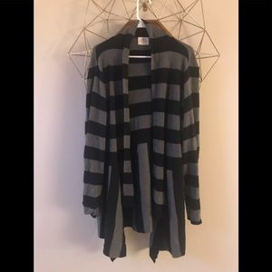 St Johns Bay black and grey sweater super cute